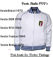 veste vintage football retro