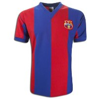 maillot barcelone vintage foot