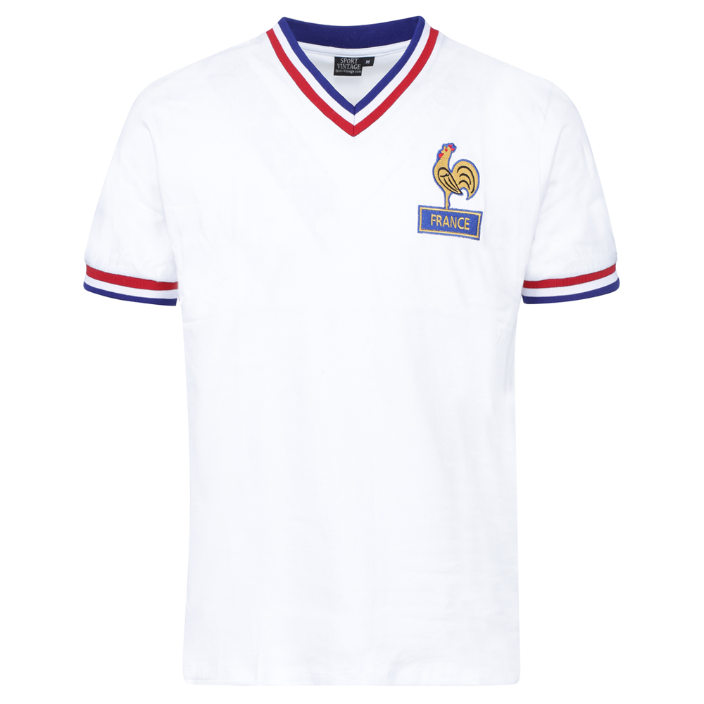 Maillot France 1970 blanc