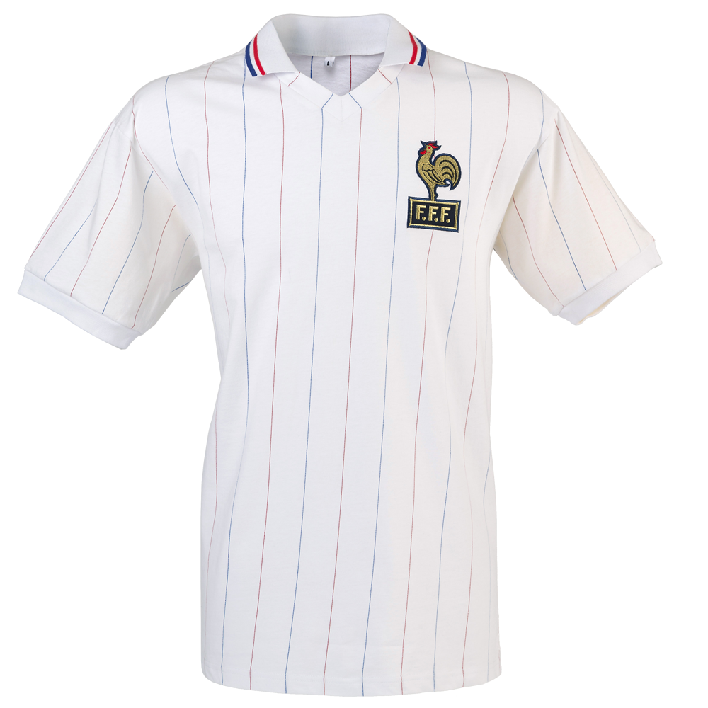 Maillot France 1982 blanc