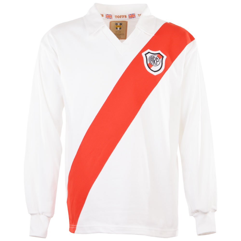 Maillot River Plate 1960