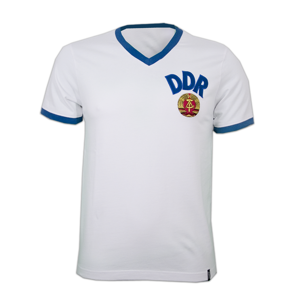 Maillot DDR 1974 blanc