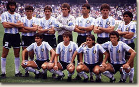 Maillot Argentine 1986 junior