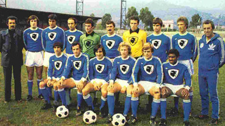 Maillot Sporting Bastia 1978 Junior