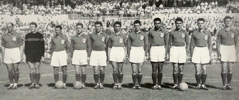 Maillot France 1954