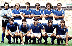 Maillot Italie 1982
