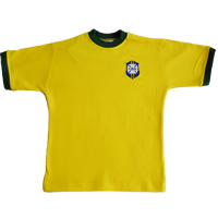 Maillot Bresil 1970 junior