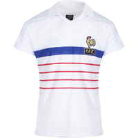 Maillot France 1984 blanc