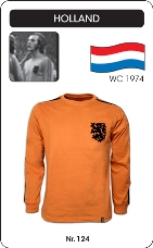 Maillot Pays Bas 1974 manches longues