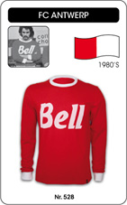 Maillot Antwerp FC 1980's