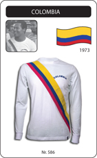 Maillot Colombie 1973
