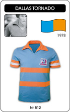 Maillot Dallas Tornado 1978