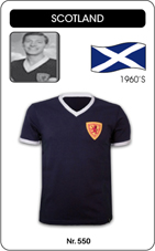 Maillot Ecosse 1960's
