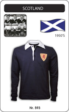 Maillot Ecosse 1950