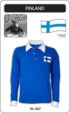 Maillot Finlande 1955 manches longues