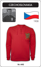 Maillot Tchecoslovaquie 1938