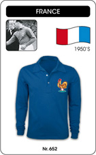 Maillot France 1950's