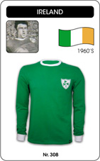 Maillot Irlande 1960's manches longues