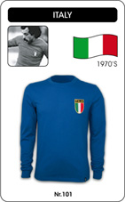Maillot Italie 1970 manches longues