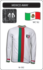 Maillot Mexique 1982