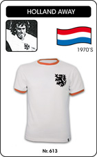 Maillot Pays Bas 1970 blanc