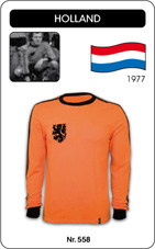 Maillot Pays Bas 1977
