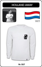 Maillot Hollande 1978 blanc