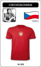 Maillot Tchecoslovaquie 1976