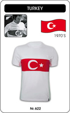 Maillot Turquie 1970's