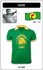Maillot Zaire 1974
