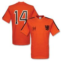"Maillot Hollande 1974 ""Cruyff signature"""