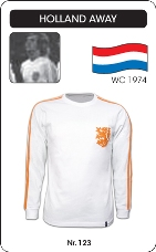 Maillot Pays Bas 1974 blanc