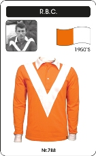 Maillot Roosendal RBC 1950's